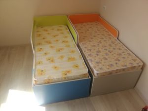 Детские кроватки с ящиками на заказ в Бердске и Новосибирске