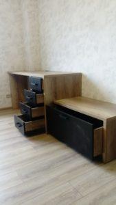 стол и шкаф на заказ в Новосибирске