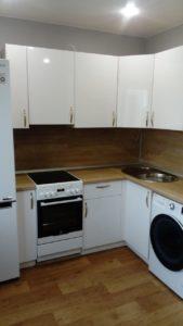 Кухни с местом под стиральную машинку