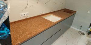Фото кухни мраморная мойка на заказ
