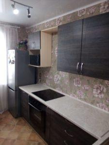 Кухня с широкими ящиками под заказ на Ул. Писемского