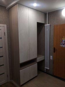 Шкаф в прихожую комнату под заказ