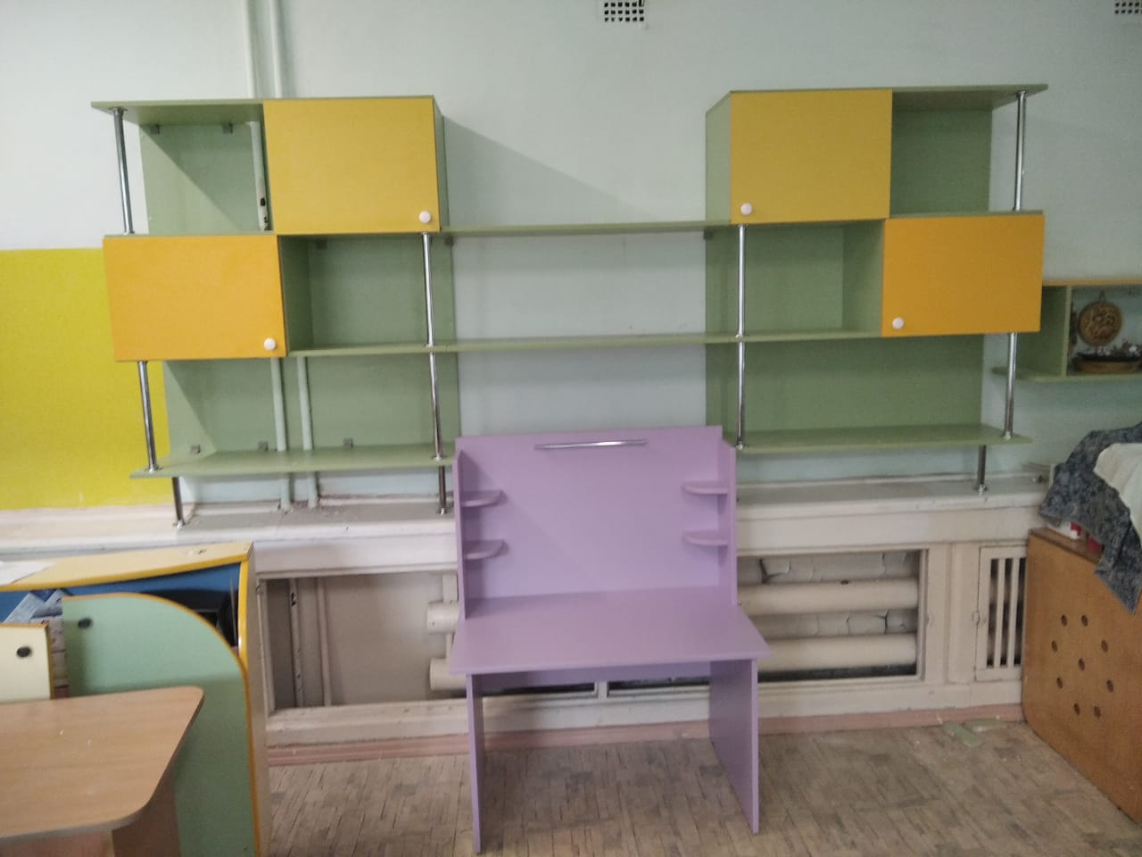 Мебель на заказ для детских учереждений