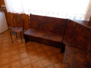 Мягкий угловой диванчик на кухню под заказ Бердск